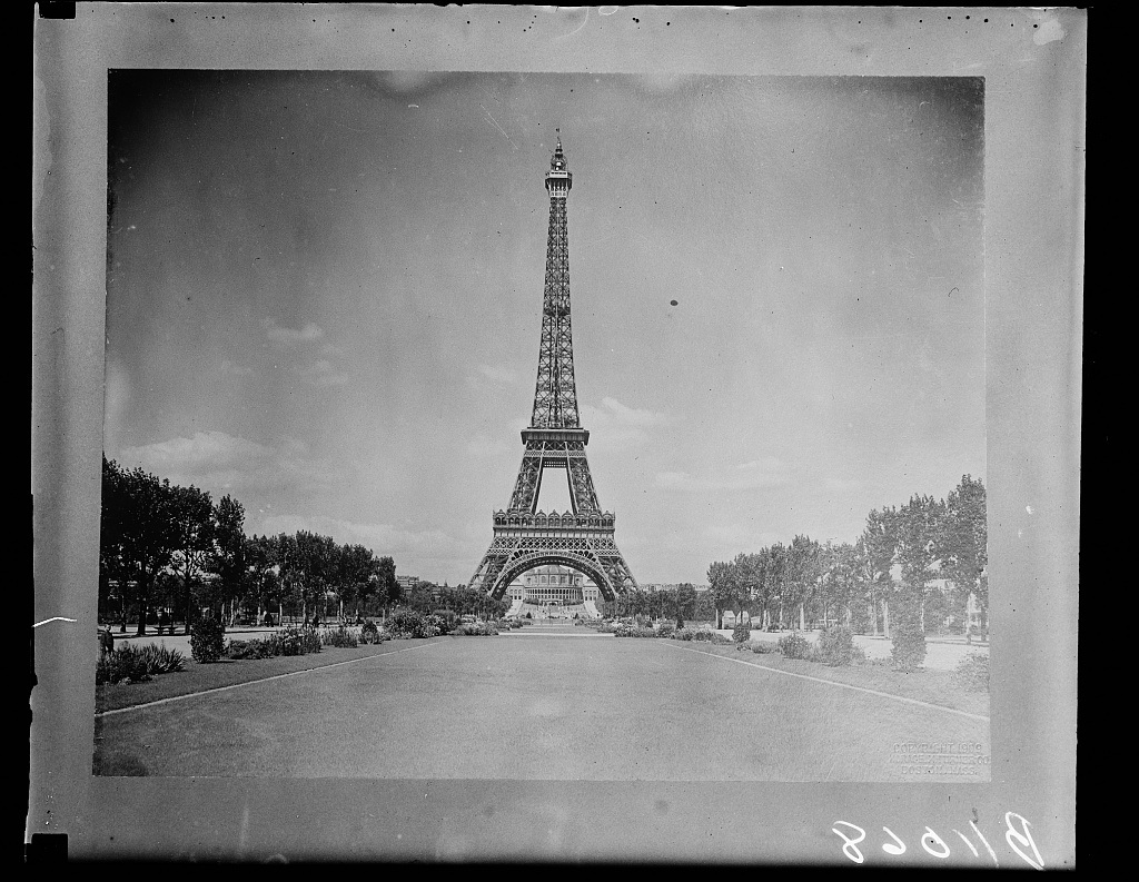 Eiffel Tower. Source: Library of Congress